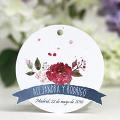 Etiqueta boda 10