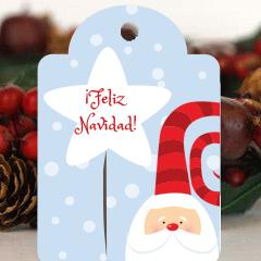 Etiqueta navidad 3