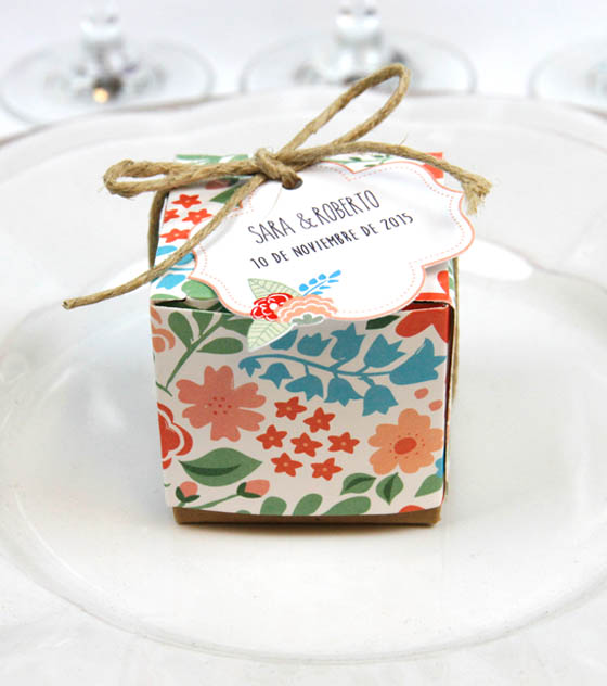 Caja regalo boda