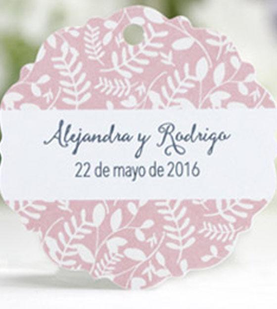 Etiqueta boda 70
