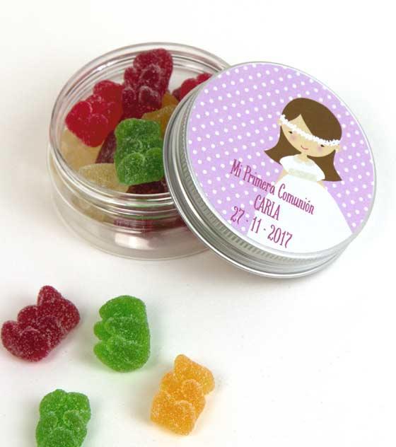 Recuerdos comunion caramelos