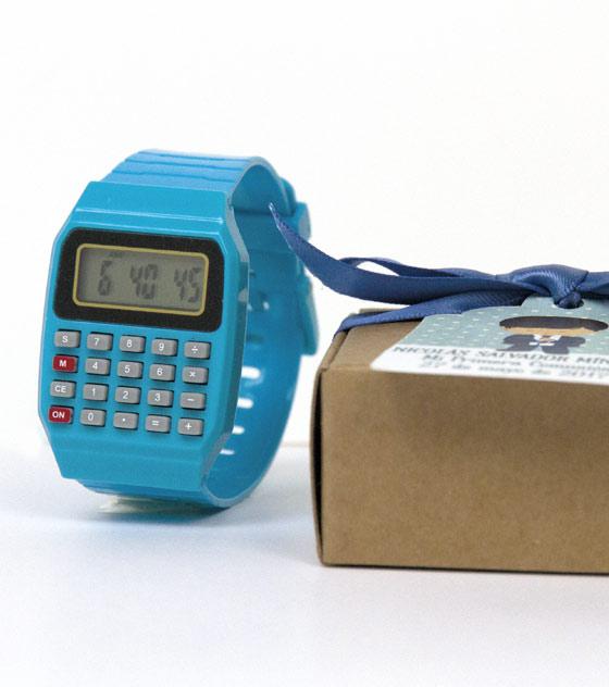 Reloj calculadora