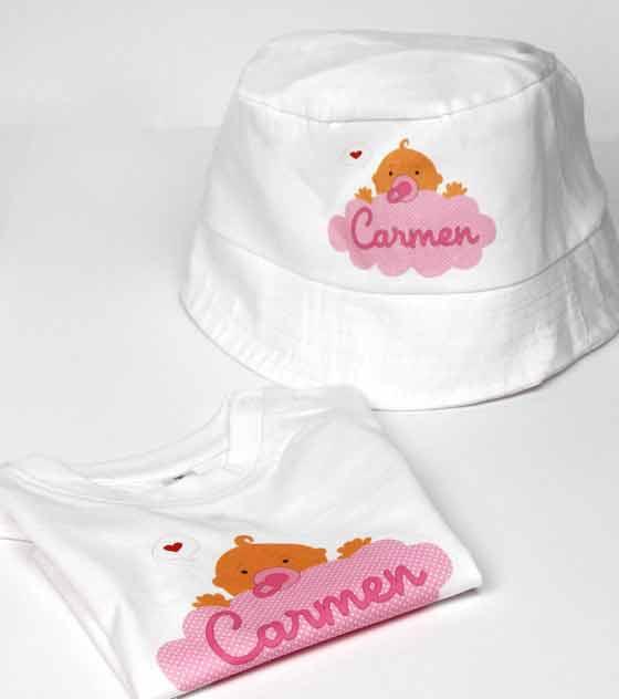 Camiseta bebe personalizada 1