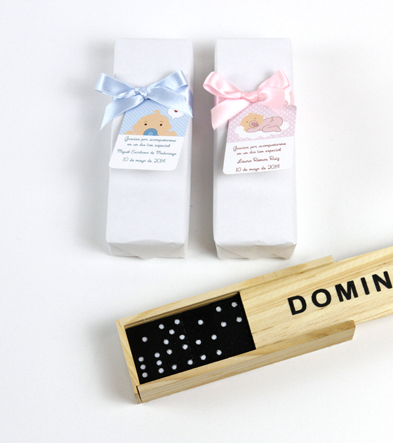 Domino regalo invitados
