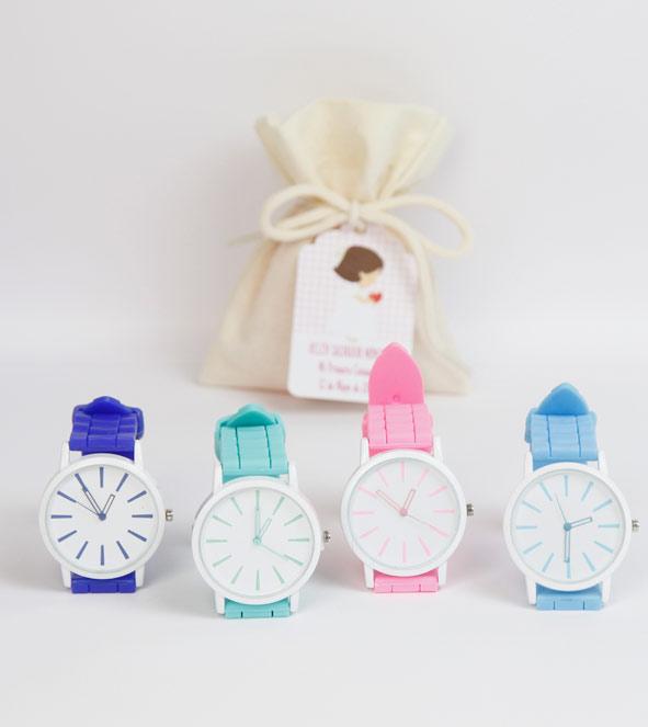 Relojes de colore