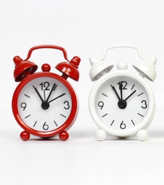 Reloj despertador detalle