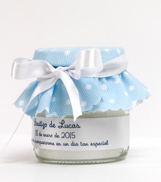 Vela azul bautizo