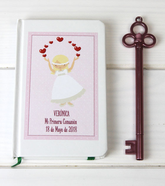 Recuerdos comunion cuaderno4