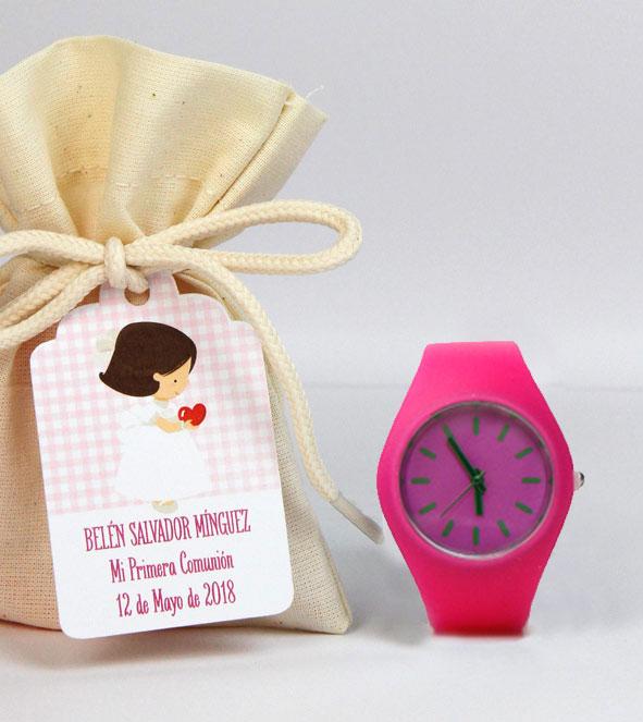 Recuerdos invtados reloj silicona3