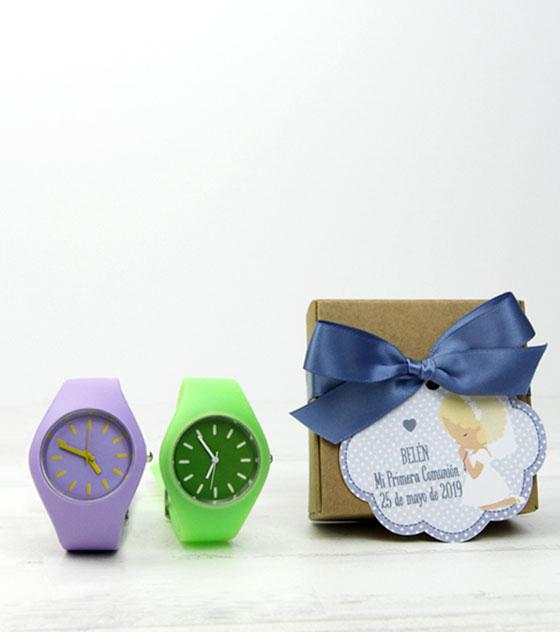 Reloj detalle invitados