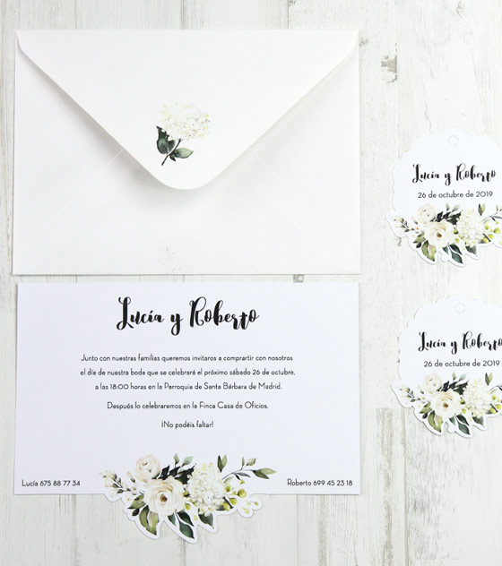 Invitacion boda flor blanca2