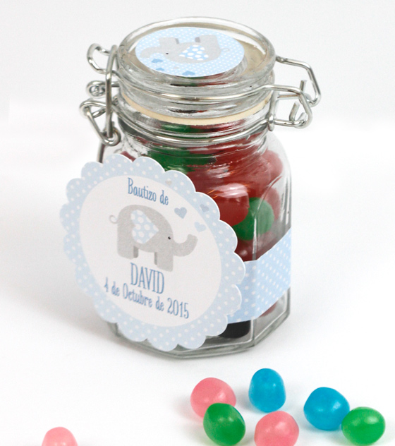 Recuerdo bautizo caramelos