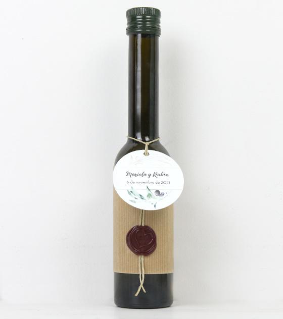 Acetie de oliva detalle boda