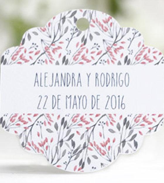 Etiqueta boda 60
