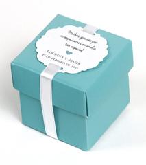 Caja para recuerdos boda